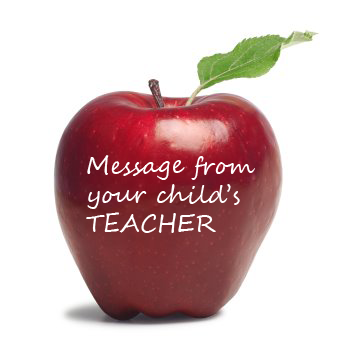 Message from your child's teacher